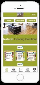 Natural flooring solutions business app development