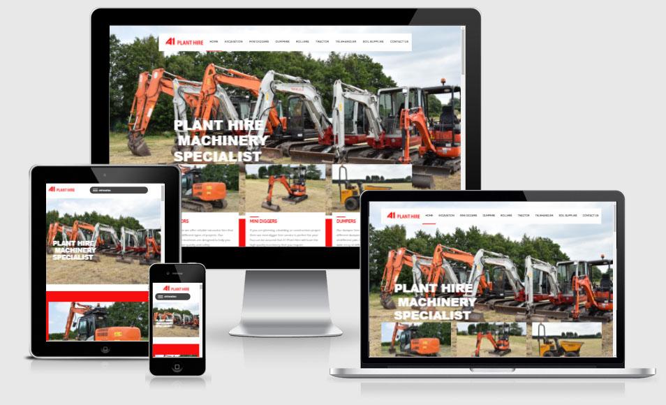 A1 website design