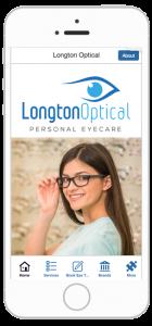 longton optical business app development