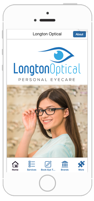 longton optical business app development