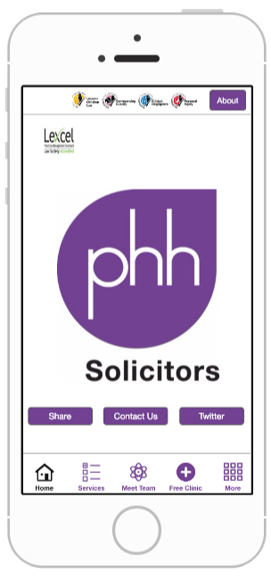 phh solicitors business app development